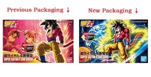 Image 5 - PrettyAngel oryginalne Bandai rysunek wzrost standardowy montaż Dragon Ball GT Super Saiyan 4 Son Goku plastikowy Model figurka