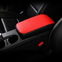 Leder Zentrale Armlehne Box Schutz Hülse Dekoration Für Mercedes Benz GLA X156 CLA C117 EINE klasse W176 2014 2018-in Innenformteile aus Kraftfahrzeuge und Motorräder bei