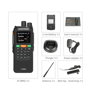 "Image 5 - 2pcs Zastone 889G נייד שתי בדרך רדיו 5 10 ק""מ UHF/VHF 10W 999CH 3000mAh ווקי טוקי חם CB רדיו משדר HF"