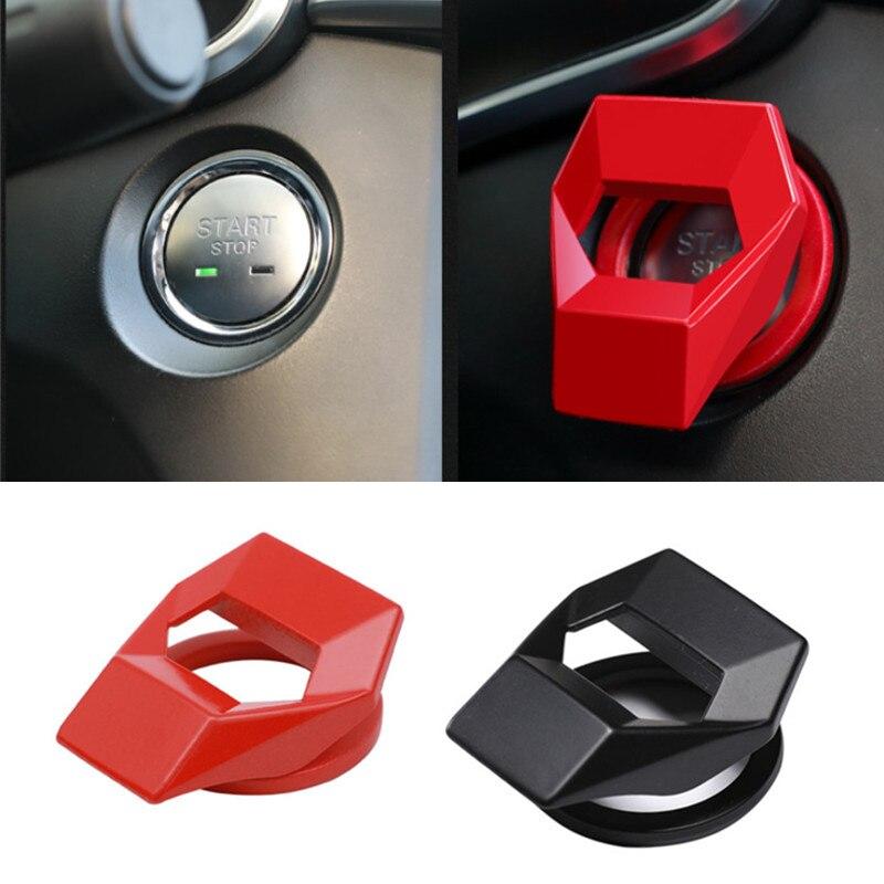 Автомобильный двигатель старт Кнопка Замена Крышка для Mazda 2 3 6 Axela Atenza CX-5 CX5 CX-7 CX-9 2015 2016 2017 2018 2019