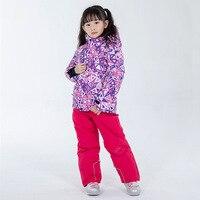 Children's Snow Suit Sets Snowboarding Ski Clothing Windproof Waterproof Outdoor Clothing Boy and Girl Kids Ski Jacket + Pants