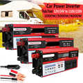 2000W 3000W 4000W omvormer 12V 220V Draagbare Auto Power Inverter Charger Converter Adapter Gemodificeerde Sinus wave