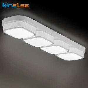 Image 4 - LED סלון מטבח תקרת אורות שלט רחוק ניתן לעמעום אמבטיה Plafon שינה אוכל תאורת מנורות מודרני קישוט
