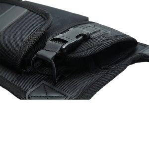 Image 5 - ABBREE สายรัดด้านหน้ากระเป๋าพกพากระเป๋าสำหรับ Baofeng UV 5R UV 82 UV 9R Plus BF 888S TYT Motorola Walkie Talkie