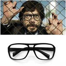 La Casa De Papel El profesora okulary odcinek dom z papieru Cosplay rekwizyty okulary Salvador Dali Halloween 3 tanie tanio Unisex Dla dorosłych Z tworzywa sztucznego