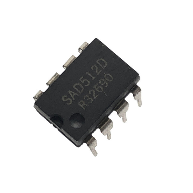 2PCS SAD512D DIP 8 Neue und original