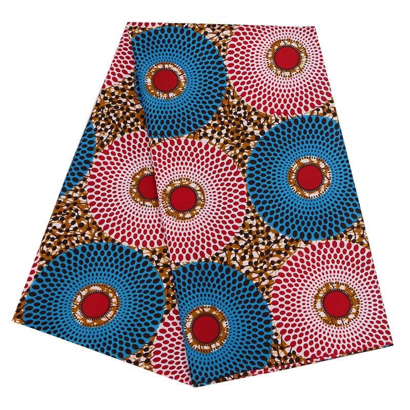100% Polyester Wax Fabric African Wax Prints Fabric Unique Design Wax Ankara Fabric 6 Yards WD-01