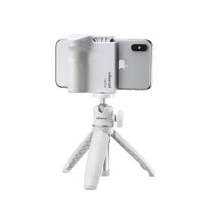 Image 2 - Smartphone Selfie Booster Griff Grip Bluetooth Foto Stabilisator Halter mit Auslöser 1/4 Schraube Telefon Stehen