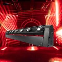 2 sztuk LED Beam 8x12W RGBW oświetlenie oświetlenie sceniczne oświetlenie do firmy wysokiej mocy z profesjonalnym na imprezę KTV Disco DJ SHEHDS w Oświetlenie sceniczne od Lampy i oświetlenie na