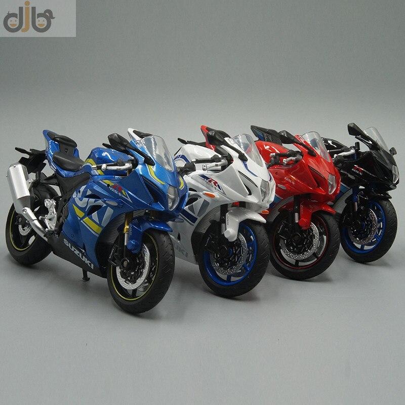 112 diecast motocicleta modelo de brinquedo f-suzuki GSX-R1000 bicicleta esportiva para coleção