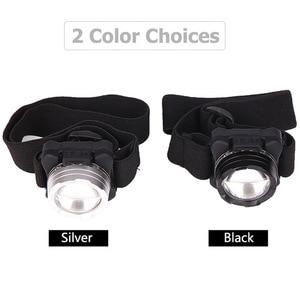 Image 5 - Faro brillante USB COB linterna LED para cabeza, recargable, resistente al agua, con batería integrada, iluminación blanca y roja