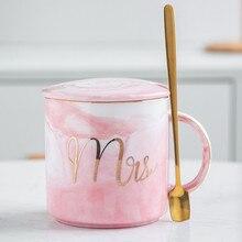 2019European Marbling Cups and Coffee Mugs Phnom Penh Ceramic Cup Travel  Tumblers Wedding Gift Customization Box Set