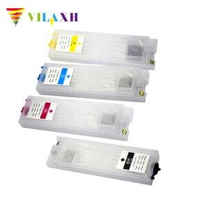 Vilaxh T9441-T9444 заправка чернил Cartridg для Epson WorkForce Pro WF-C5290 WF-C5790 WF-C5210 C5210 WF-C5710 принтер с чипом