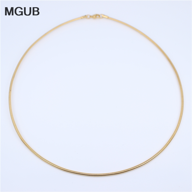 MGUB Silver color stainless steel sun pattern collar men and women jewelry wear lobster deduction simple HL303