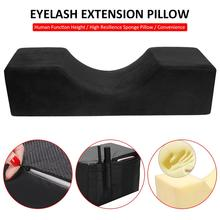Eyelash Extension Pillow Professional Curve Memory Foam Neck Support Grafting Cushion for Beauty Salon