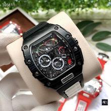 AAA górne luksusowe marki RM wodoodporny zegarek męski DZ Richard zegarki automatyczne zegarki na rękę Mille człowiek zegar prezent najlepsze prezenty dla mężczyzn tanie tanio Nicesnowl adjustableinch Limitowana edycja QUARTZ 3Bar Bransoletka zapięcie CN (pochodzenie) STAINLESS STEEL Szafirowe