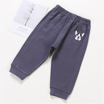 Baby's Cotton Pants with Elastic Waist 4
