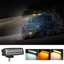 6 inch 60W LED Double row 8D  Car Work Light Bar Driving Lamp Offroad For Truck 4X4 4WD SUV ATV