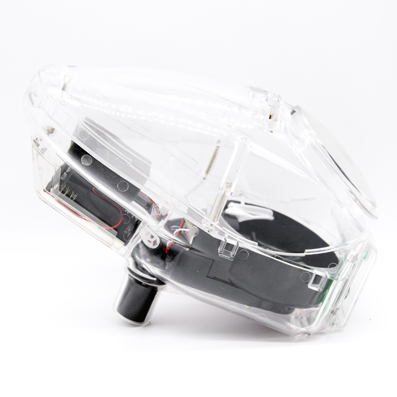 New 0.68 Ball Electronic Paintball Loader Mini Wheel Speed Loader <font><b>BB</b></font> Loader <font><b>180</b></font> Rounds Capacity Transparent image