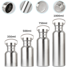 4 Size Stainless Steel Single Wall Vacuum Jug Insulated Wate