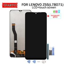 6.3 אינץ עבור LENOVO Z5S LCD תצוגה + מסך מגע Digitizer עצרת 100% מקורי חדש LCD + מגע Digitizer עבור z5S (L78071)