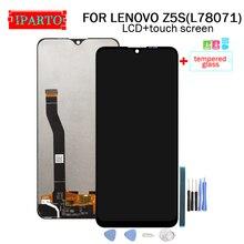6.3 inç LENOVO Z5S LCD ekran + dokunmatik ekran Digitizer meclisi için 100% orijinal yeni LCD + dokunmatik Digitizer için z5S (L78071)