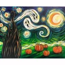 Diy картина по номерам Абстрактная живопись маскарадный маслом
