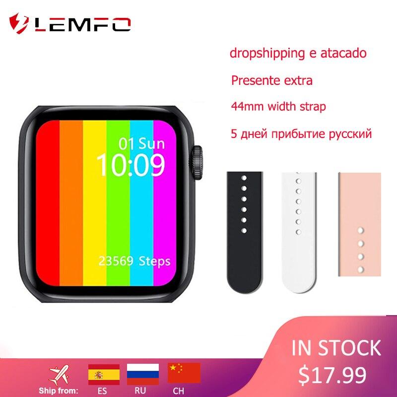 LEMFO IWO W26 Watch 6 ECG Smart Watch 1 75 inch IPS Screen Heart Rate Blood Pressure Men Women Smartwatch like IWO 12 W16 W46