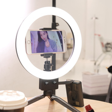 9 بوصة/23 سنتيمتر ستبليس عكس الضوء LED Selfie مصباح مصمم على شكل حلقة ل يوتيوب فيديو ماكياج الجمال ضوء استوديو الصور المستمر الإضاءة لايف