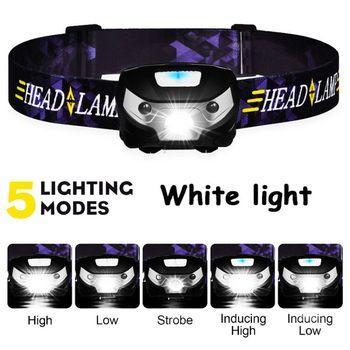 Zk20 led headlamp mini usb recharg
