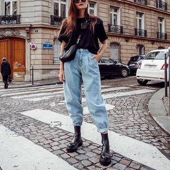 Aachoae Jeans Women 2020 Loose Casual   6