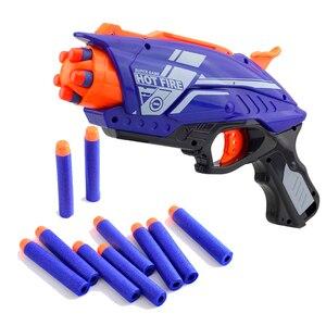 Image 2 - 2020 ใหม่พลาสติกปืนของเล่นสำหรับNERF Elite Series Blaster 20pcs Soft EVA Bulletเด็กปืนของเล่นสำหรับชาย