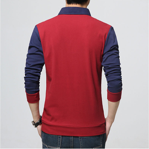 Image 5 - Browon Merk Herfst Mens T Shirts Fashion 2020 Nep Twee Designer Kleding Cool T shirt Mannen Lange Mouw T shirt Toevallige mannelijke