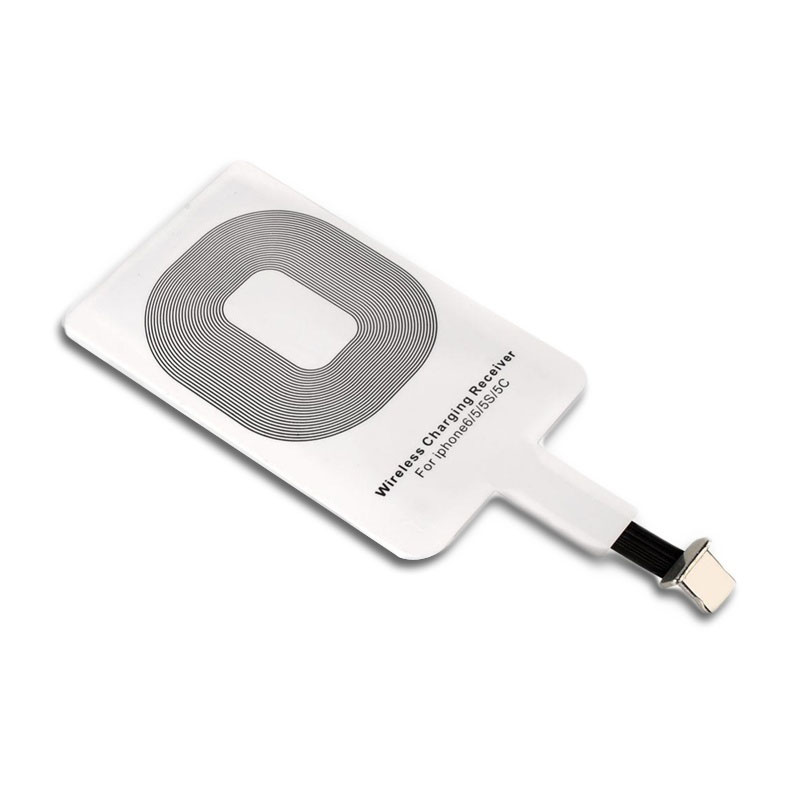 Universal Qi Wireless Charger Receiver Card Charger Adapter Pad Coil For IPhone/Type-C FO Sale