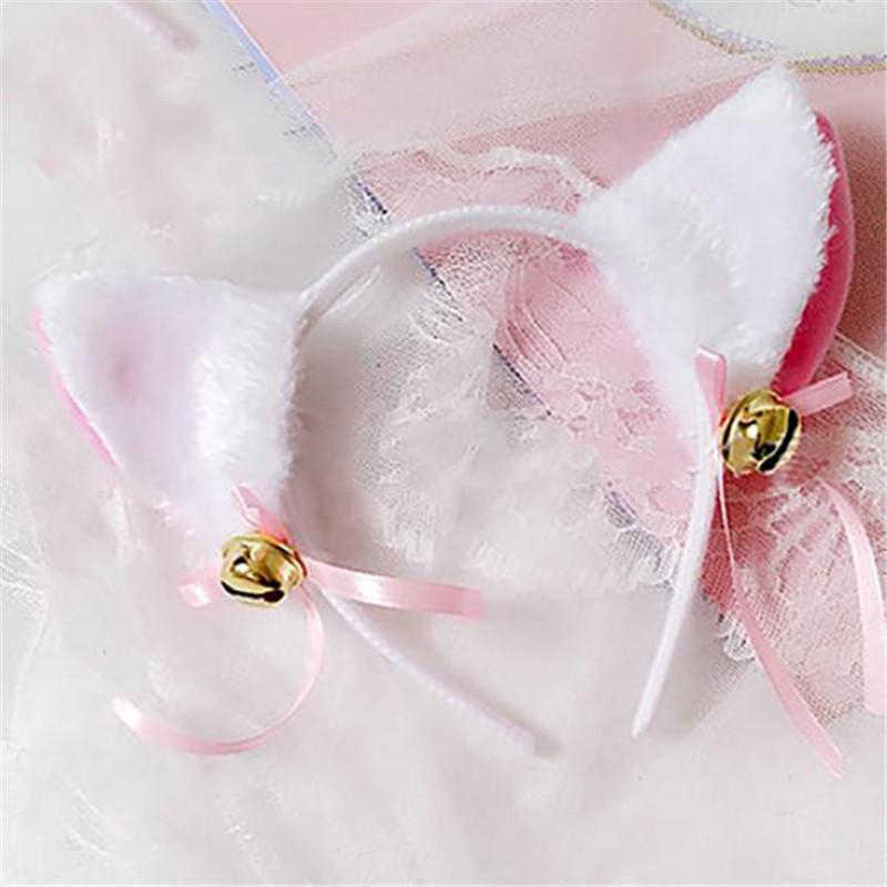 かわいい猫耳パターン女性のための女の子コスプレヘアバンドパーティー帽子ファッションヘアアクセサリー