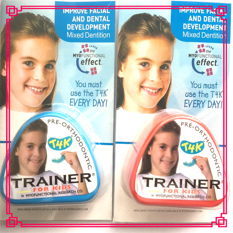 Купить с кэшбэком Australia Myobrace T4K Pre-Orthodontic Trainer/Dental Teeth Traniers/dental material orthodontic appliance Trainer