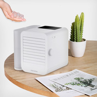 MICROHOO 6W 1000ml Water Capacity Mini Air Conditioner Touch Screen 99 speed Adjustment Energy Saving Timing Cooling Fan