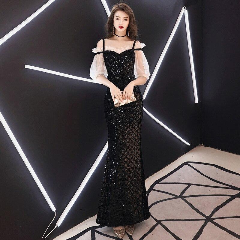 Vestidos De Madrinas De Bodas Bridesmaid Dresses Long Banquet Women 2020 New End Long Noble Party Host Fish Tail