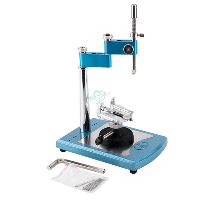 1 juego de equipo de laboratorio Dental portátil Simple topógrafo con 7 Uds. Husillos intercambiables conectados - 2