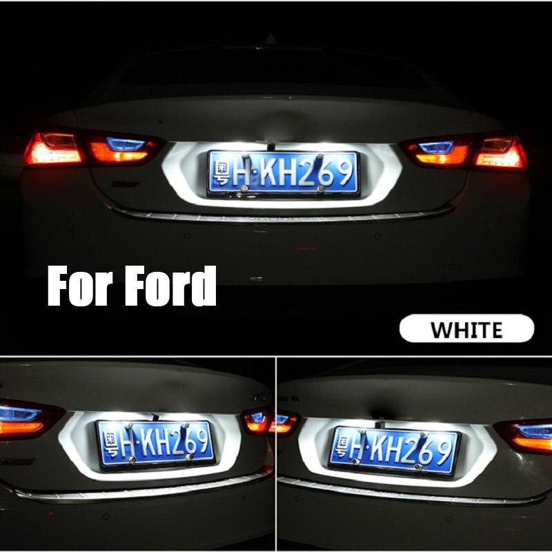 >10pcs T10 W5W LED Car Interior Dome Light For Ford Focus 2 <font><b>3</b></font> 1 Fiesta Mondeo 4 <font><b>3</b></font> <font><b>Transit</b></font> <font><b>Fusion</b></font> Kuga Ranger Mustang Ecosport KA