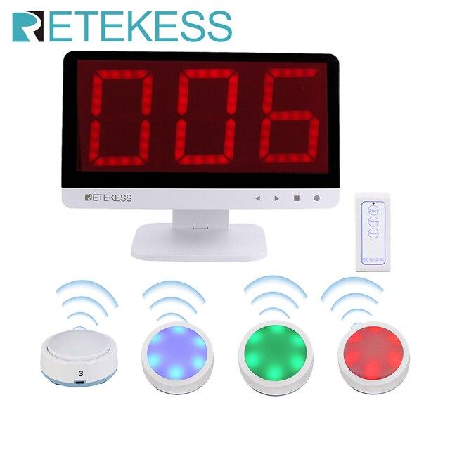 Беспроводной пульт дистанционного управления TM101, интеллектуальный ретранслятор для соревнований по тестированию музыки в слепой игре, 4 передатчика + 1 хост дисплей