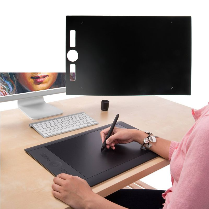 Graphite Protective Film For Wacom Digital Graphic Drawing Tablet Intuos Pth860 Tablet Screen Protector QX2B