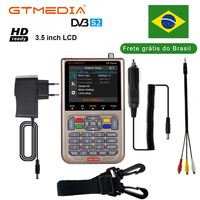 GT MEDIA /Freesat V8 Finder HD DVB S2 Digital Satellite Finder High Definition Sat Finder DVB S2 Satellite Meter Satfinder 1080P