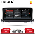 EBILAEN Android 9,0 автомобильный dvd-плеер для BMW X5 E70/X6 E71 (2007-2013) CCC/CIC системный блок ПК Android навигация Мультимедиа ips