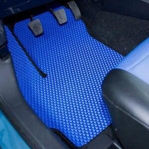 Image 4 - Alfombrillas de goma EVA para coche, accesorios de Interior de coche, impermeables, anticontaminación, para Skoda Octavia, Set de 4x