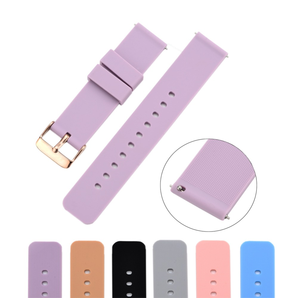 For Xiaomi 18mm Replacement Band For Huawei B5/Fit/S1 Silicone Bracelet For Withings Activite 18mm/LG Watch Style 18mm Smartwath
