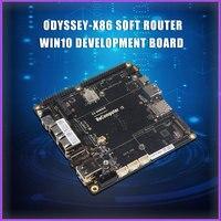 ODYSSEY-X86 roteador macio win10 placa de desenvolvimento braço placa desenvolvimento linux compatível raspberry pi 4b