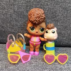 LOL Surprise Confetti Pop Series 3 Rip Tide & Lil Hammy Tide кукла игрушка подарок