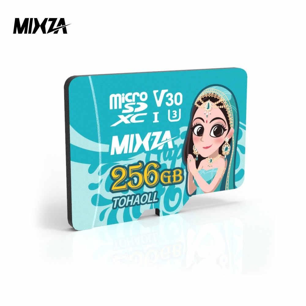 MIXZA Dea Scheda di Memoria 256GB 128GB 64GB U3 80 MB/S 32GB Micro carta di deviazione standard di Class1Class10 UHS-1 flash card di Memoria Microsd Carta di TF/SD