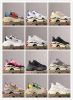 Men Shoes High Quality Six layer combination outsole Casual Walking Shoes Breathable Platform Sneakers Heightening Women shoes